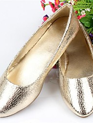 Women's Shoes Flat Heel Pointed Toe Flats Casual Gold