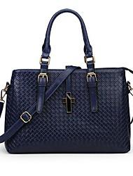 Women's Fashion Knitting Pattern Commuter Shoulder Bag