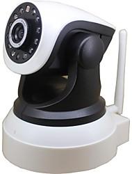 720P 1MP Wirelese IP CAMERA Pan Tilt ONVIF NVR WiFi Night Vision IR-CUT Support SD Card