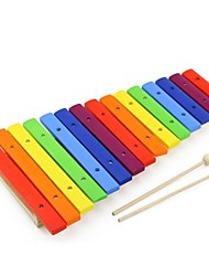 BENHO Color 15 Scales Xylophone Education Music Baby Toy Instrument