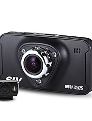 Newest  SIV-M7 Novatek 96655 Chipset 2.7 Inch 170 Degree Wide View Angle  Motion Detection Dual Lens Car Camera Recorder