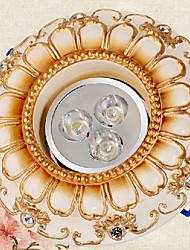 Luxury 3W LED Spot Light White Light Resin and Metal