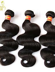 Черный - жен. - Наращивание волос Кудрявый - Человеческий волос