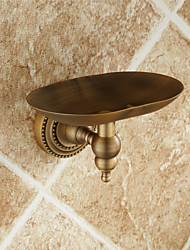 Antique Brass Wall Mounted Soap Dishes