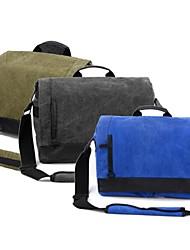 Eirmai  S3050 Professional Canvas Diagonal SLR Digital Camera Bag Is Suitable for Nikon Canon Multicolor