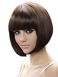 Stage Fashion Wigs Short Brown