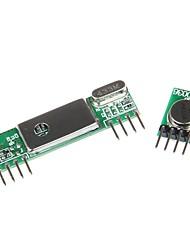 geeetech superheterodino 3400 wirelesss kit transmissor receptor + RF 433MHz