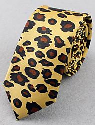SKTEJOAN® Men's Korean  Fashion Leopard Narrow Ties(Wide:5CM)