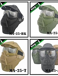 MA-25  Tactical Gear Full Face Glasses Paintball Airsoft Mask