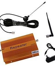 haute 70db de gain gsm980 900mhz amplificateur de signal mobile avec fouet et antenne meunier couverture 2000m²