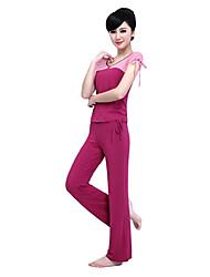 yoga tops ropa del baile de la aptitud de las mujeres yiduolian