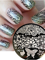 Nail Art Stamp Stamping Image Template Plate JQ Series NO.14