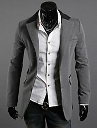 Männer unregelmäßige drei Taschen dünne beiläufige Blazer
