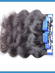 "Wholesale Brazilian Hair Extensions Wavy Mixed1Kg(10pcs16""+10pcs18"") Grade4A Color1B"