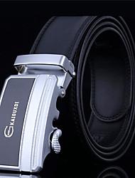 Men's  Fashion Layer Cowhide Belt Genuine Automatic Buckle  Belt (Assorted Colors)