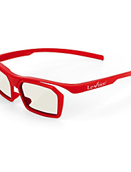 FDR rotatorios gafas 3D polarizadas (color al azar)