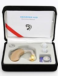 новое прибытие низкой мощности беспроводной глухими помощь слуховой аппарат за ухо усилитель звука / аудифон
