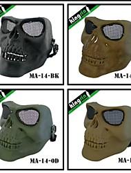 Airsoft Tactical Military Skull Full Face Mask V2 (Steel mesh)