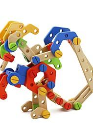 BENHO Smart Nut Sets Wooden Building Blocks Baby Toy