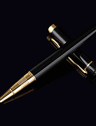 0.38mm Black High Grade Business and School Fine Writing Fountain Pen