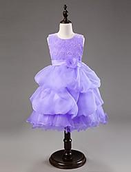 Vestidos (de Algodão ) - MENINA - Sem Mangas - Médio - Micro-Elástico
