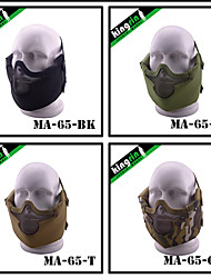 MA-64 New Tactical Gear V8 Strike Steel Mesh Protect Face Mask Safety