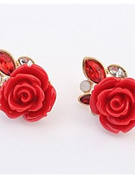 Masoo Women's Fashion Hot Selling Rose Earrings