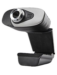 Webcam - OEM - A871 - 10.0+ - 640 x 480 - Inovador - Microfone Embutido/Video Chamada HD/Skype