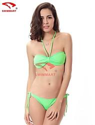 Bikinis/Tankinis/Múltiples prendas/Accesorios de natación/Blusa Traslúcida ( Spandex )- Sujetadores con relleno - Sin mangas para Mujer