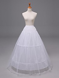 Wedding2 Tiers Floor-length Nylon Organza Petticoats Slips