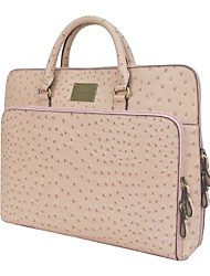Kate&Co.® Women's Fashion Classic Ostrich grain Laptop Bag briefcase