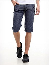 Shorts ( Blau , Leinen ) - für Freizeit - für MEN - Reine