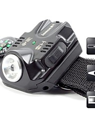 Lights LED Flashlights/Torch LED 240 Lumens 5 Mode Cree XR-E Q5 / LED AAA / USBAdjustable Focus / Waterproof / Rechargeable / Impact