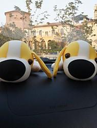 casa ambientador&bolso paquete de carbón de bambú del coche (negro de la cinta de muñeca perro) 2pcs