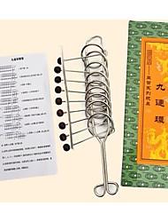 Large Nine Serial Unlock Puzzle Game