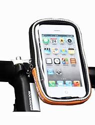 FahrradtascheHandy-Tasche Fahrradlenkertasche Touchscreen Tasche für das Rad Polyester Fahrradtascheiphone 4/7S Iphone 5 C iPhone 5/5S