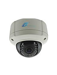 grote 960p ir dome ip camera met vandalismebestendige