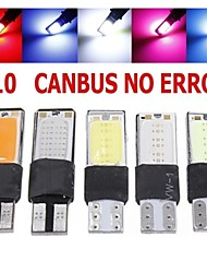 2pcs T10 LED 194 168 W5W COB Interior Bulb Light Parking Backup Brake Lamps Canbus No Error Cars Xenon Auto Led Car