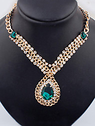 Colorful day  Women's European and American fashion necklace-0526066