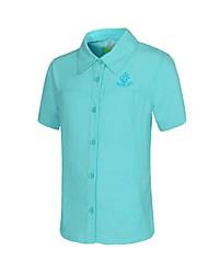 Outdoors Kids Summer Light Nylon Three Colors Quick-drying Short Sleeve Shirts