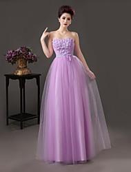 Fiesta formal Vestido - Como en la foto Corte A Hasta el Suelo - Escote Corazón Satén
