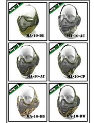 "MA-10-02 Face Steel ""Striker mask"" Gen2 Metal Mesh Half Face Military Mask"