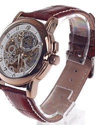 ORKINA MG015 Double-Sided Skeleton Automatic Men's Wrist Watch