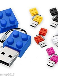 Spielzeugziegelsteine ​​Cartoon 1 GB USB 2.0 Flash-Stick
