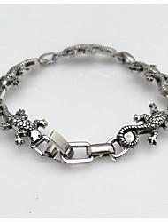 Fashion Punk Men's Alloy Gecko Bracelets
