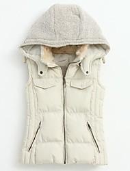 Women's Leisure Sleeveless Cotton Vest Coat