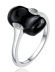 SSMN Women's  Silver Plating Ring