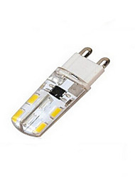 9W G9 LED a pannocchia T 16 SMD 5730 384 lm Bianco caldo / Luce fredda AC 220-240 V 1 pezzo