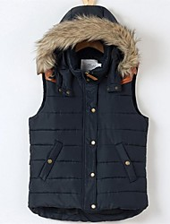 Women's Fashion Leisure Cotton Vest Outerwear