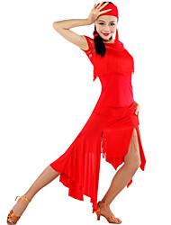 Latin Dancewear Women's Hot Latin Dance Dress(More Colors)